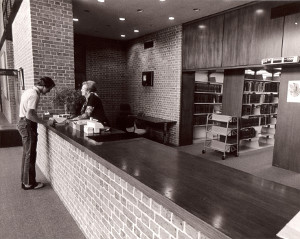 Doherty Circulation Desk
