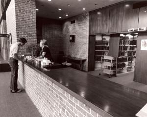 Doherty Circulation Desk
