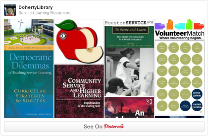 service learning pinterest board