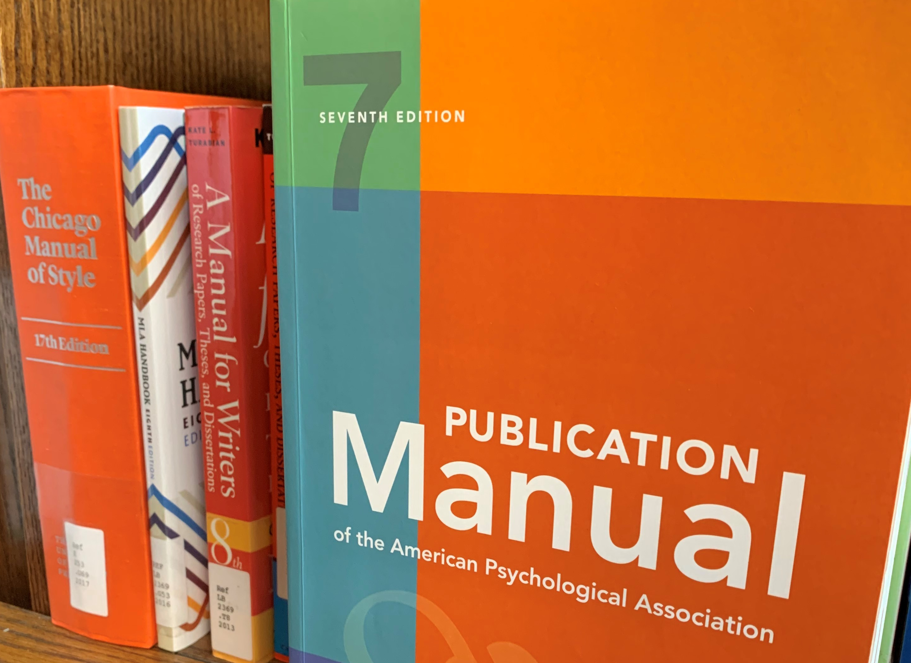 - Publication Manual of The American Psychological Association: 7th Edition American Psychological Association - Paperback